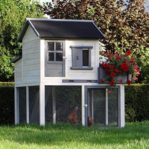 h hnerstall sunshine 116x112x134cm. Black Bedroom Furniture Sets. Home Design Ideas